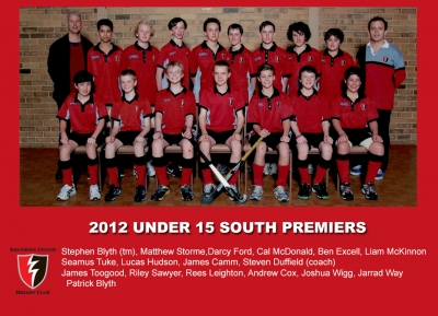 2012 outdoor u15 south