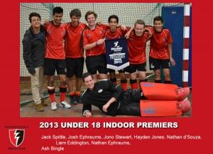 2013 Indoor U18