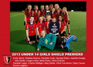 2013 Outdoor U14 Girls Shield