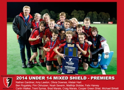 2014 Outdoor U14 Mixed Shield