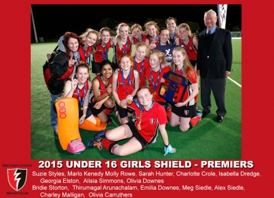 2015 Outdoor U16 Girls Shield
