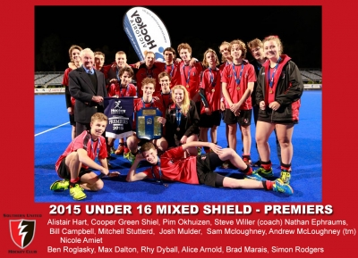 2015 Outdoor U16 Mixed Shield