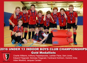 2016 Indoor U13 Boys Club Champs