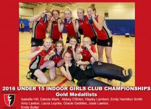 2016 Indoor U15 Girls Club Champs