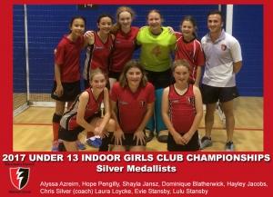 2017 Indoor U13 Girls Club Champs