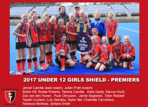 2017 Outdoor U12 Girls Shield