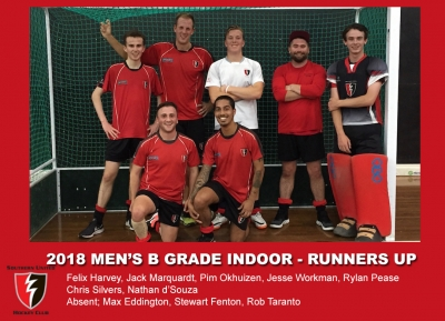 2018 Indoor Mens B Grade