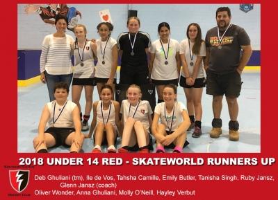 2018 indoor u14 skateworld red