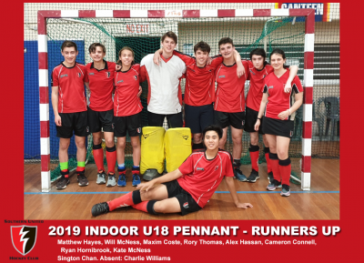 2019 Indoor Under 18 Pennan t