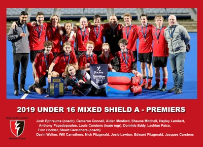 2019 Outdoor U16 Mixed Shield A