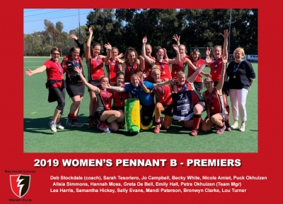 2019 Outdoor Womens Pennant B
