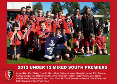 2013 Outdoor U12 mixed south