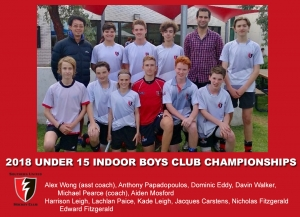 2018 Indoor U15 Boys Club Champs