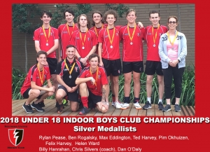 2018 Indoor U18 Boys Club Champs