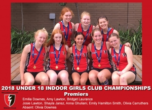 2018 Indoor U18 Girls Club Champs