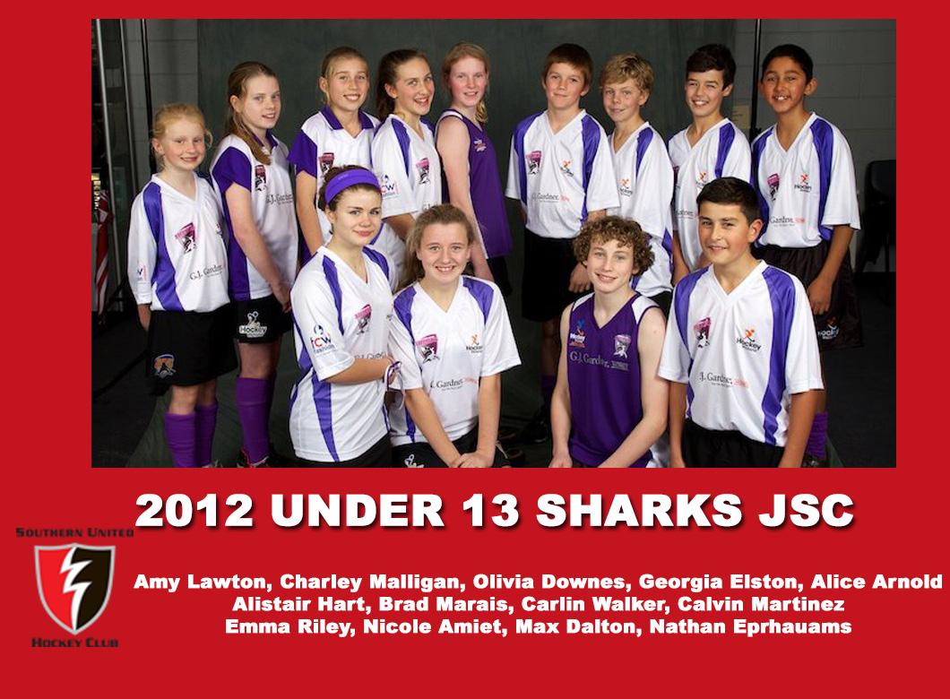 2012 Junior Under 13 Sharks