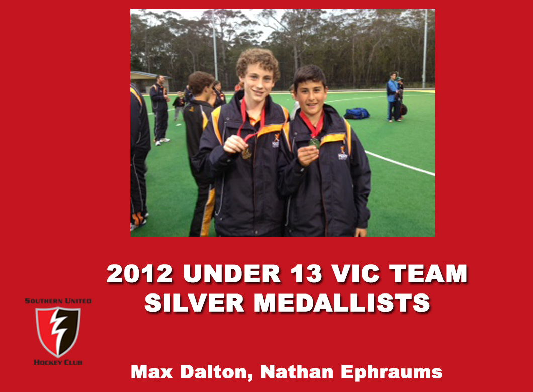 2012 Junior Vic  Under 13 Boys