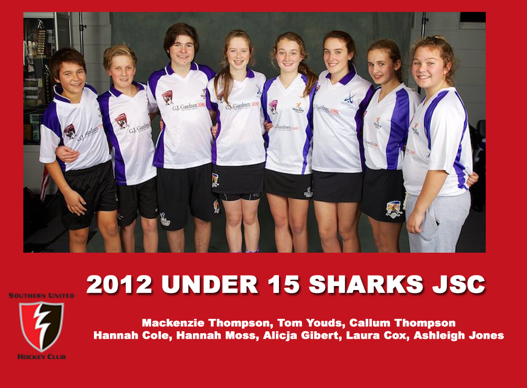 2012 Junior Sharks Under 15