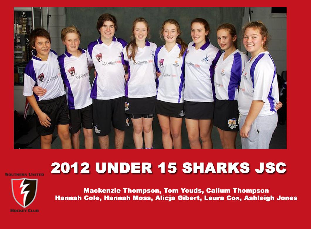 2012 Junior Sharks Under 15