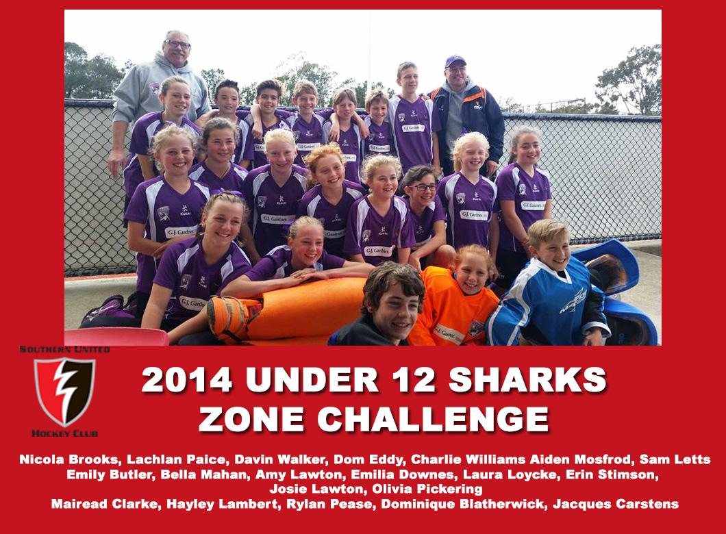 2014 Junior Sharks Under 12 Zone Challenge