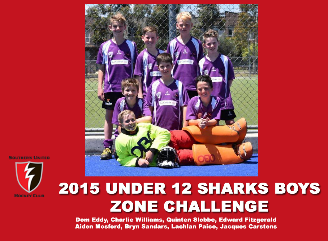2015 Junior Sharks Under 12 Boys Zone Challenge