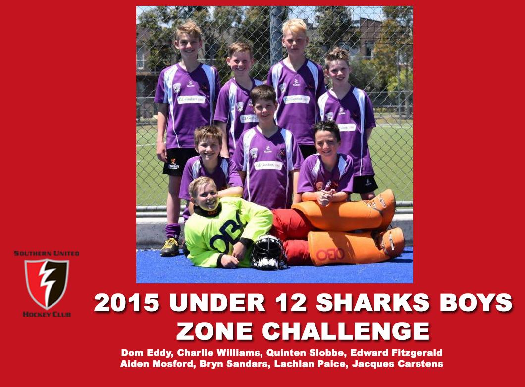 2015 Junior Sharks Under 12 Boys Zone Challenge