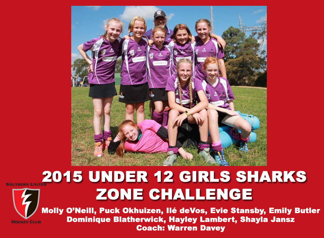 2015 Junior Sharks Under 12 Girls Zone Challenge