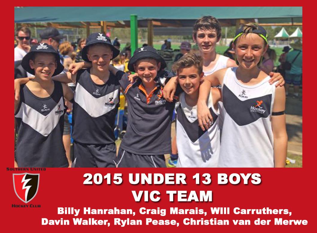 2015 U13 Boys