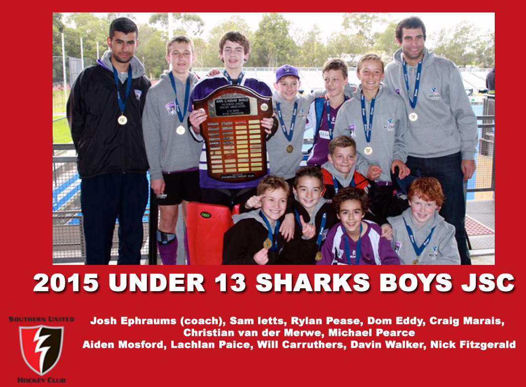 2015 Junior Sharks Under 13 Boys JSC