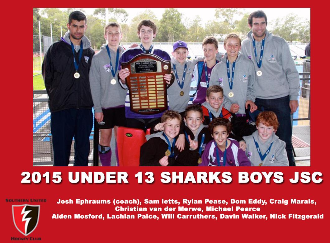 2015 Junior Sharks Under 13 Boys JSC