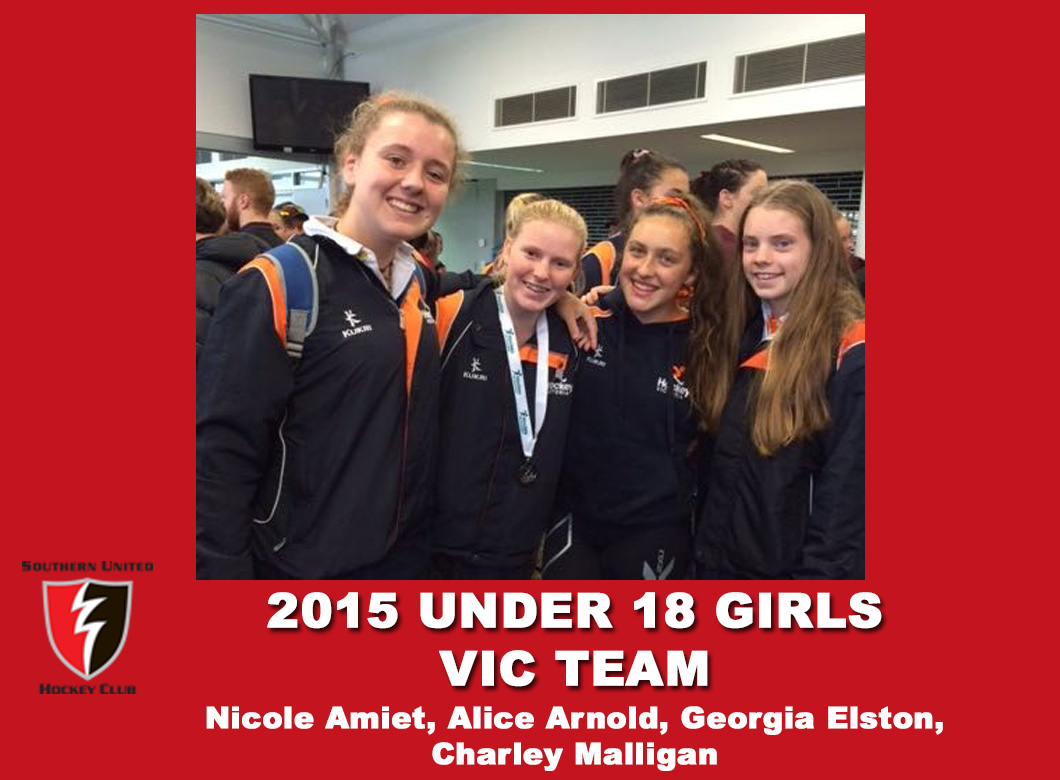 2015 Junior Vic Under 18 Girls