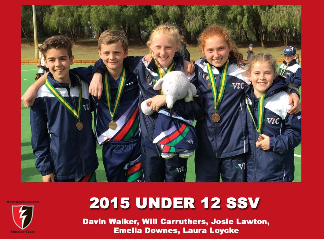 2015 Junior Under 12 SSV