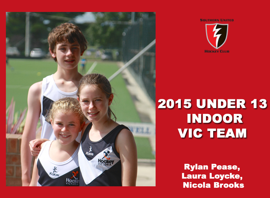 2015 Junior Vic Under 13 Indoor