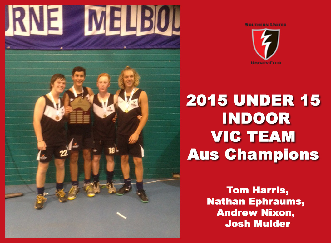 2015 Junior Vic Under 15 Indoor