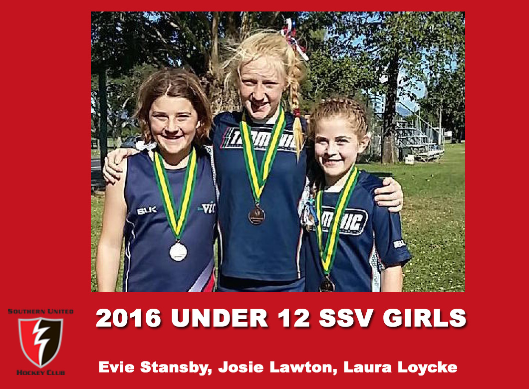 2016 Junior Vic Under 12 SSV Girls