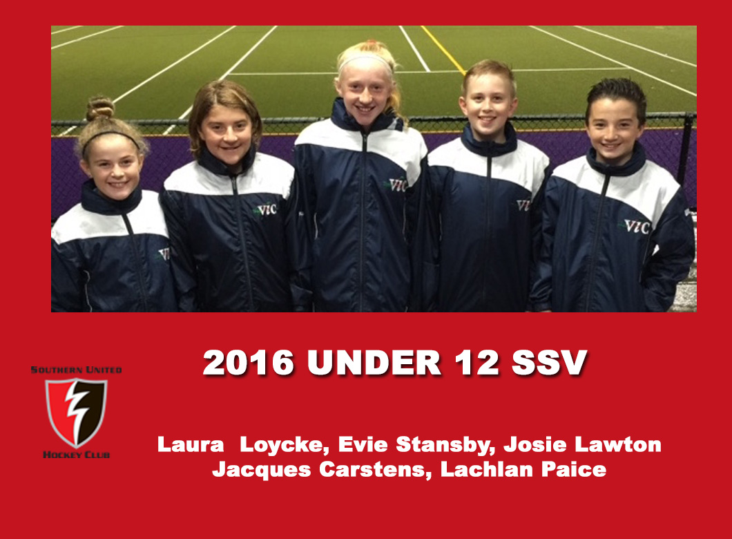 2016 Junior Vic Under 12 SSV