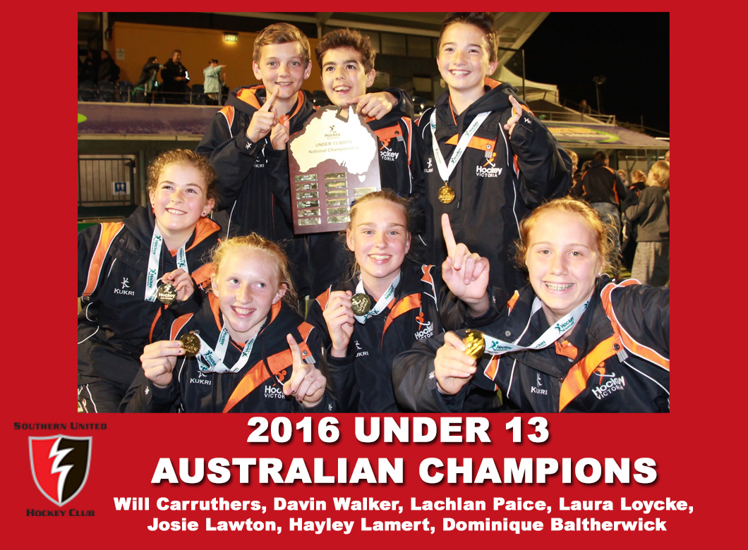 2016 Junior Vic Under 13 Blue