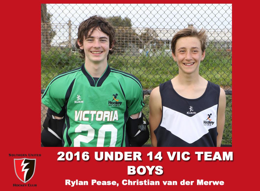2016 U14 Vic Boys