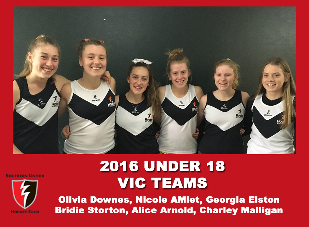 2016 Junior Vic Under 18 Women