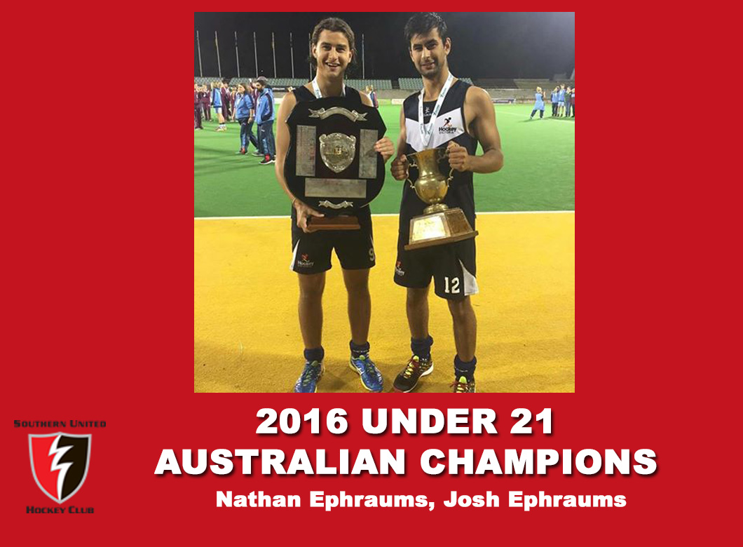 2016 Junior Vic Under 21