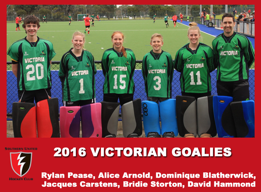 2016 Junior Vic Goalies