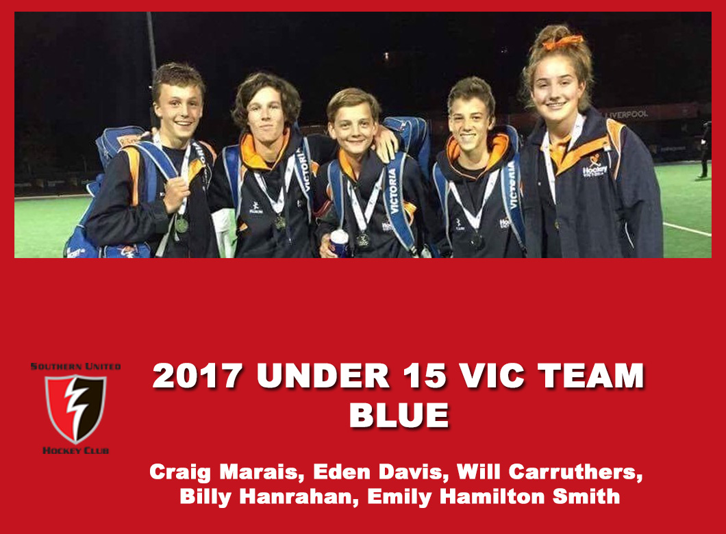 2017 Junior Vic Under 15 Blue