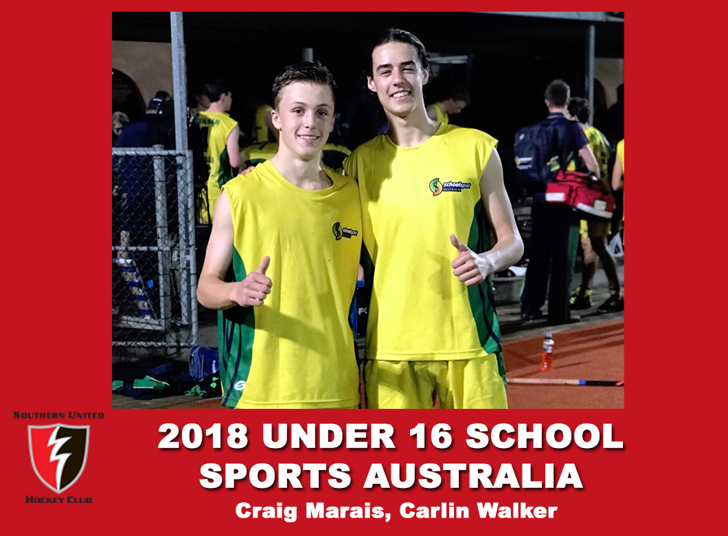 2018 Under 17 School Sports Australia