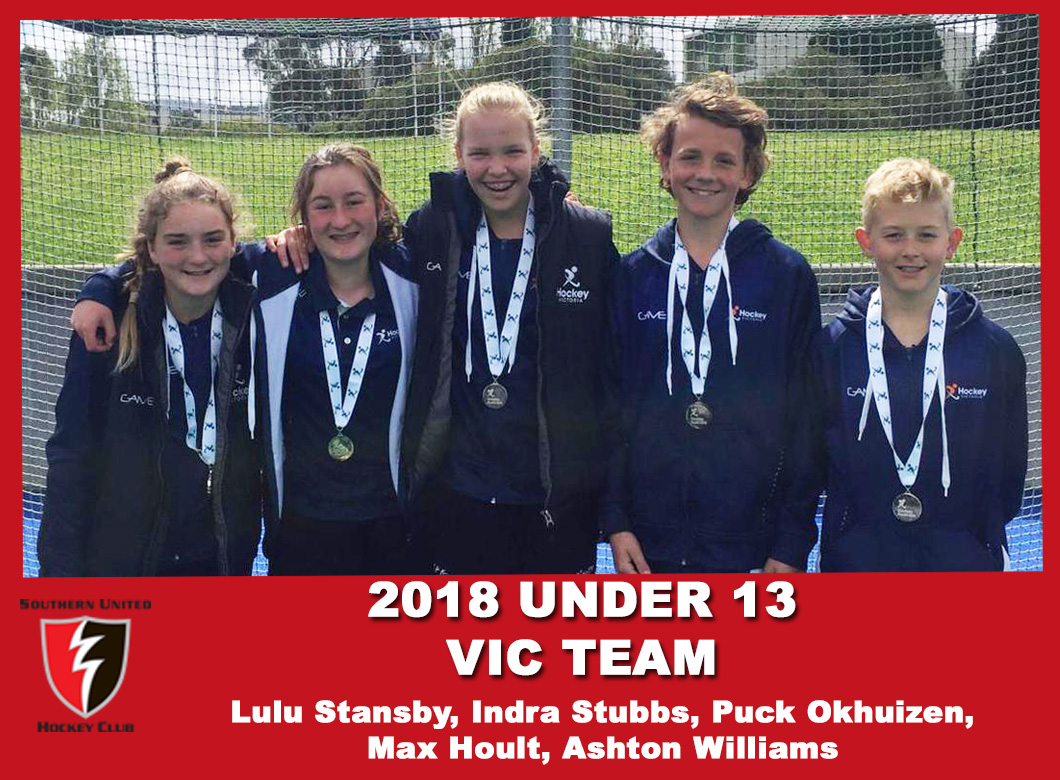 2018 Junior Vic Under 13