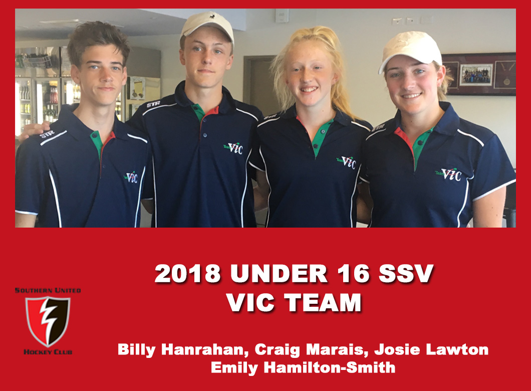 2018 Junior Vic Under 16  SSV