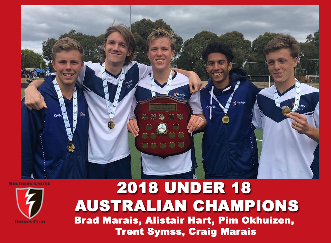 2018 Junior Vic Under 18 Men