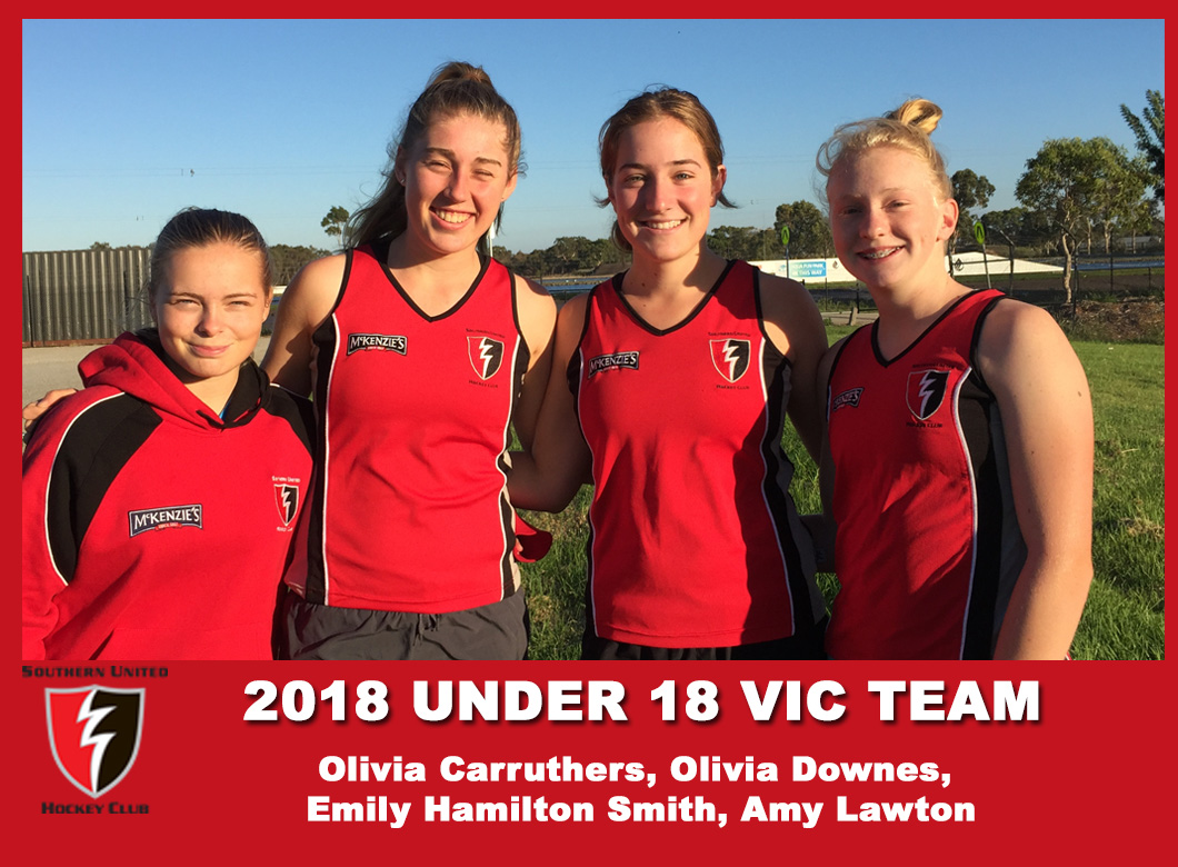 2018 U18 Vic girls