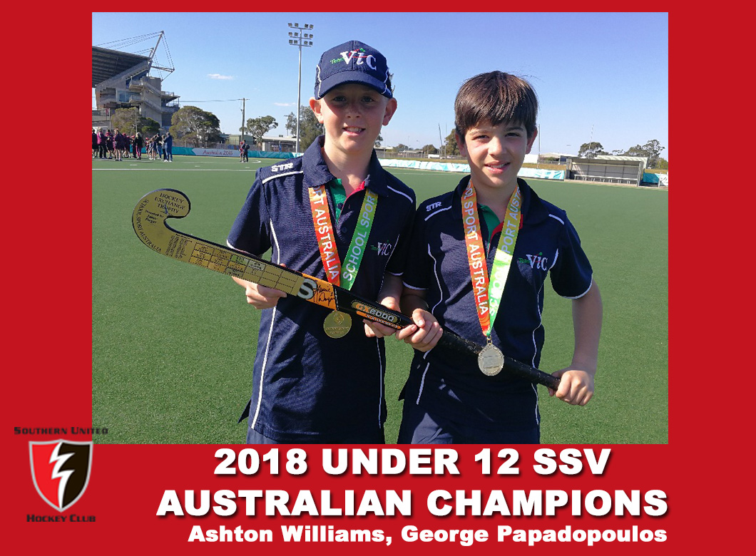 2018 Junior Vic Under 12 SSV