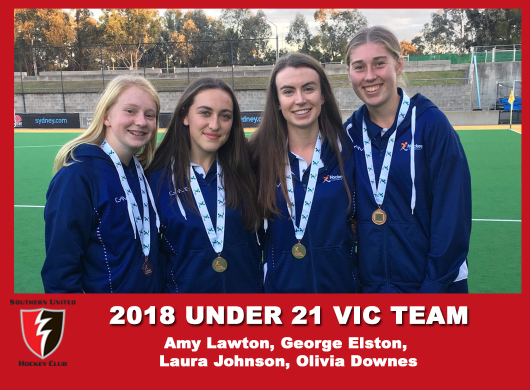 2018 Junior Vic Under 21 Women