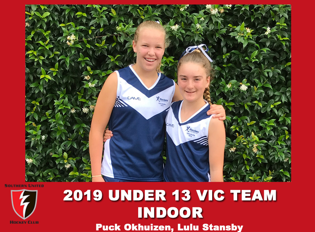 2019 Junior Vic Under  13  Indoor